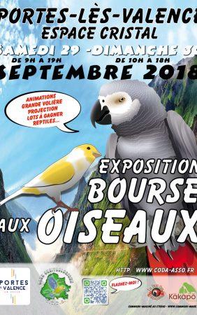 L'Exposition Bourse aux oiseaux 2018